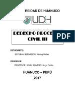 CARATULA DE DERECHO PROCESAL CIVIL 3.docx