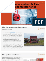 Fire Alarm System & Fire System Maintenance