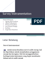 Survey Instrumentation