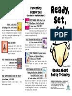 Potty Training Brochure