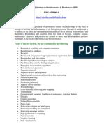 International Journal on Bioinformatics & Biosciences (IJBB)