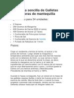 Receta sencilla de Galletas caseras de mantequilla.docx