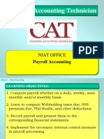 CAT Module 1 Payroll Accounting (Updated)