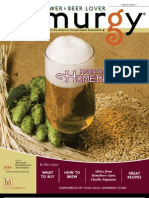 Zymurgy Introduction to Home Brewing