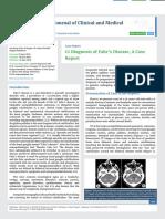 Ct Diagnosis of Fahr's Disease, A Case Report