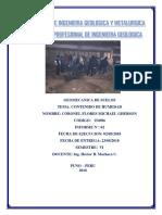 Facultad de Ingenieria Geologica y Metalurgica