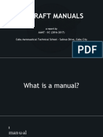 AMT 225 - Report on Aircraft Manual