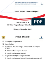 Penyelarasan RPJMD
