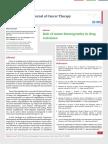 Role of tumor heterogeneity in drug resistance