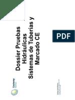 Dossier Pruebas Hidráulicas y Marcado CE