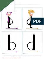 Confusión Grafemas b - d (Apoyo Visual)