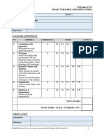 FORM 1 Progress Assessment