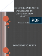 Care of Clients With Problems in Oxygenation (Part 2)