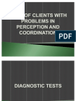 Care of Clients With Problems in Perception and Coordination