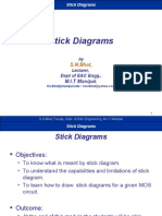 Stick Diagrams by S.N.bhat, Lecturer, Dept of EC Engg., M.I.T ...