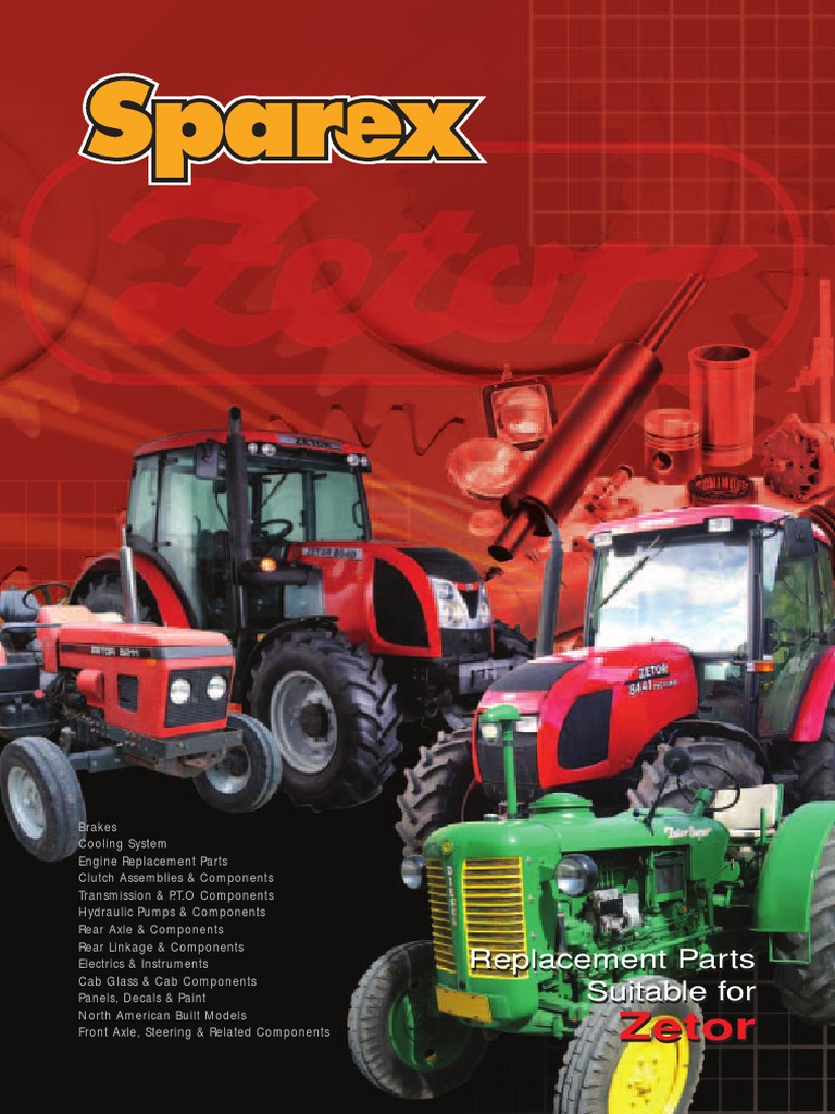 Zetor part manual | Steering | Transmission (Mechanics)