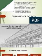 DURABILIDADE DO AÇO.pptx
