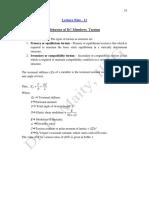 Torsion Tension and Column (11-16)