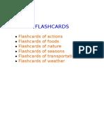 Flashcard Theo Chu De