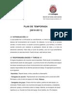 Plan temporada 2010-2011