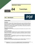 MLG 04 - Tanatologia