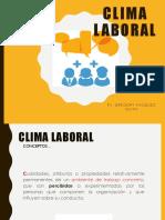 CLIMA LABORAL  CURANILAHUE