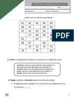 3º ano - Matemática - Diagnóstico