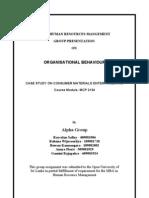 OB - Group Paper