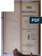 D-Summa Philosophiae Aristotelico-Thomisticae Vol2- Philos Naturalis Pirotta OP