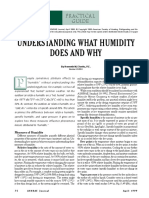 UNDERSTANDING WHAT HUMIDITY DOES AND WHY