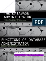The Database Administrator