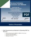 Tax Revenue Estimates