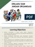 Materi 1 Pengantar Perilaku Dan Perancangan Organisasi