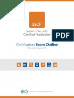 SSCP Exam Outline Nov 1 2018