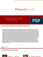FLO Flowers Foods Barclays Presentation 2018