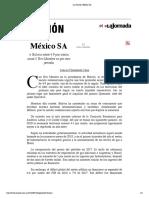 La Jornada_ México SA
