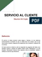 Servicio Al Cliente- Mauricio Atri Cojab.