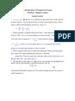 Atmospheric Thermodynamics Problems