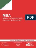 MBA - Master en Administracion y Direccion de Empresas.pdf