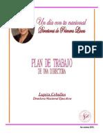 Plan de Trabajo de Una Directora