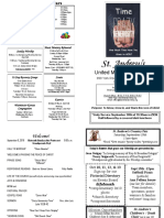 St Andrews Bulletin 090918