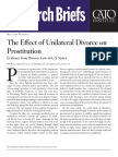 The Effect of Unilateral Divorce on Prostitution