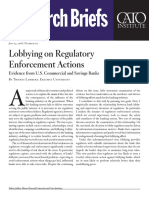 Lobbying on Regulatory Enforcement Actions