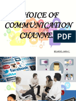 CHOICE OF COMMUNICATION CHANNEL.pptx