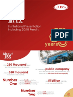 JBSS3 JBS Institutional Presentation 2018
