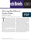The Long-Run Effects of Teacher Strikes