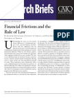 Financial Frictions and the Rule of Law