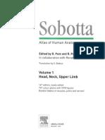 Sobotta Atlas of Human Anatomy - Volume 1 (2)