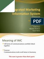 Integrated Marketing Information System