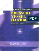 Pressure Vessel Handbook - 12th Edition, Megysey - 2001